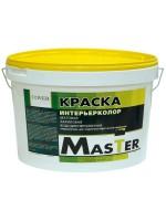 Интерьерная краска для стен и потолков (MASTER эконом)