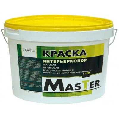 Интерьерная краска для стен и потолков (Master Standart эконом)