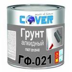 Алкидный грунт ГФ-021 серый